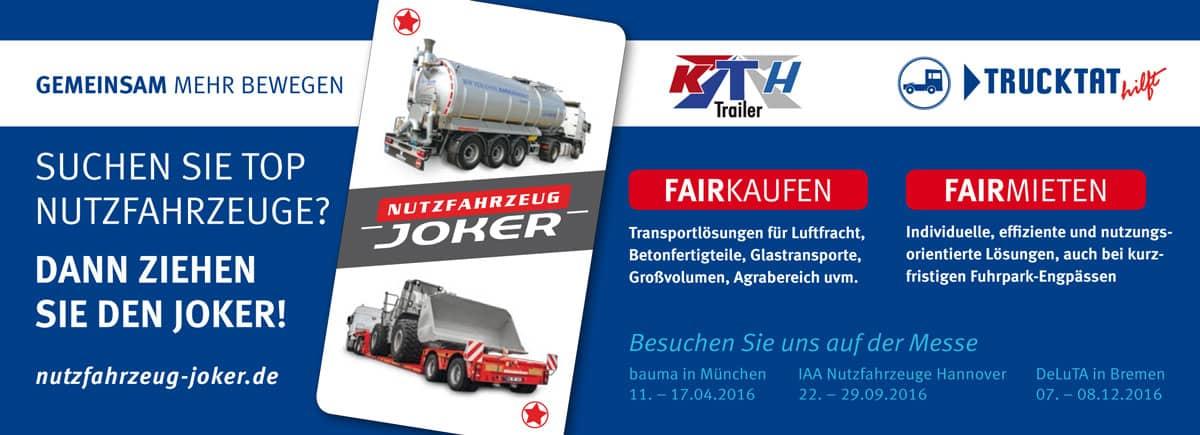 Rückemänner Werbeagentur Hamburg Fachanzeige Nutzfahrzeug-Joker Trucktat