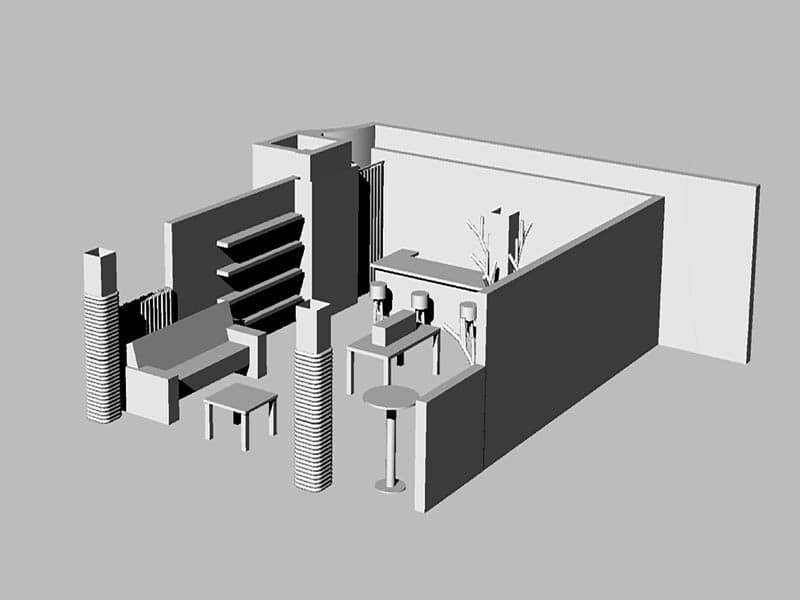 Rückemänner Werbeagentur Hamburg Messestand-Entwicklung 3D Aufbau