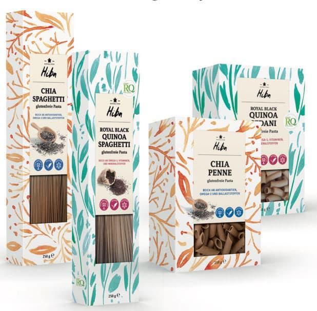Rückemänner Werbeagentur Hamburg Packaging Design Verpackungsdesign Hiba Pasta