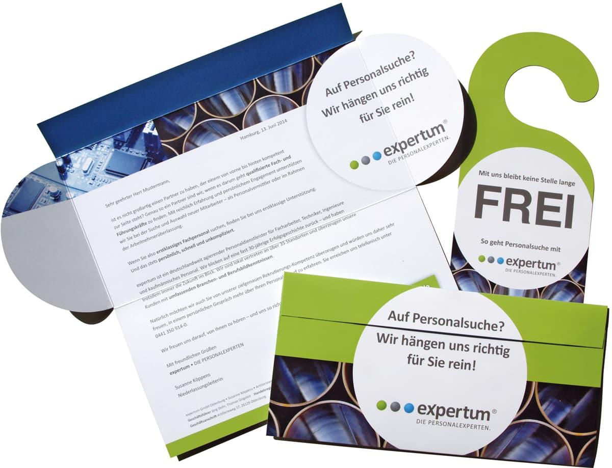 Rueckemaenner Werbeagentur Personalmarketing Employer Branding Direct Mailing expertum