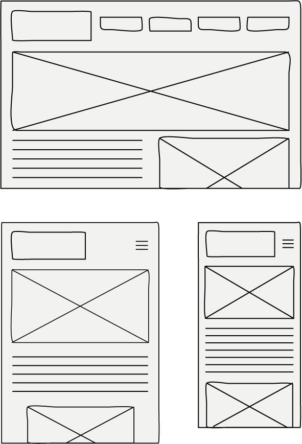Rückemänner Webdesign Agentur Responsive Wireframes