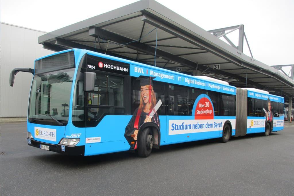 Euro-FH Busgestaltung Relaunch ab 2018 Rückemänner Werbeagentur