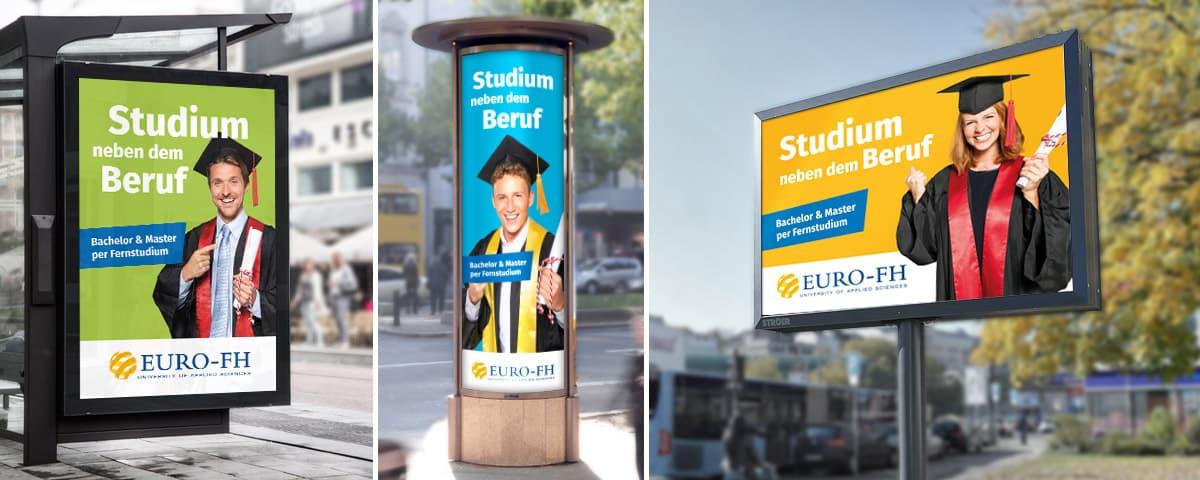 Euro-FH Out-of-Home Kampagne Relaunch ab 2018 Rückemänner Werbeagentur