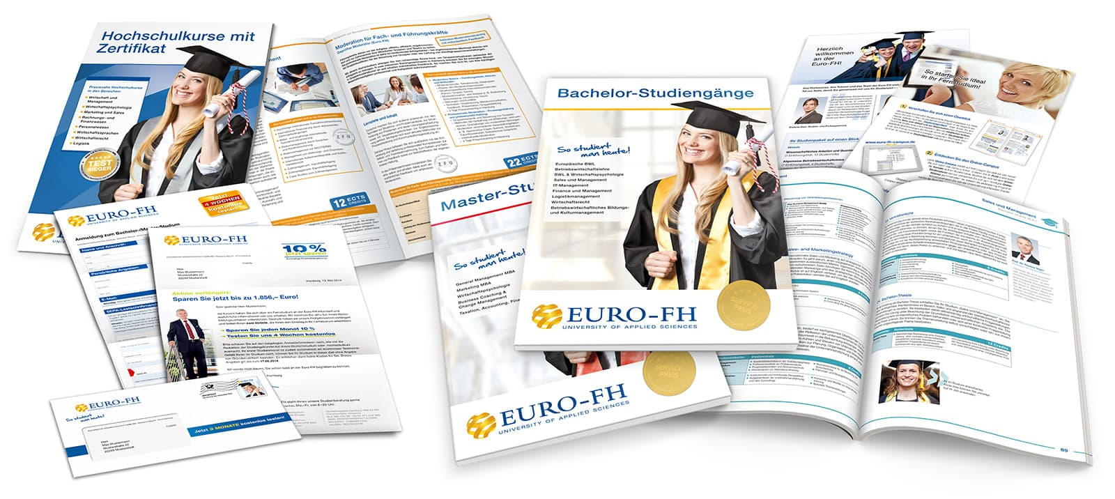Euro-FH Printmaterialien bis 2018 Rückemänner Werbeagentur